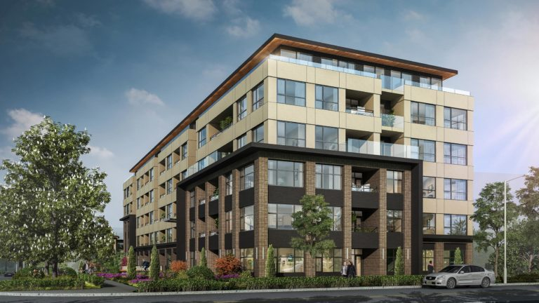 83 rental apartments + 4 rental townhomes at Quadra & Southgate