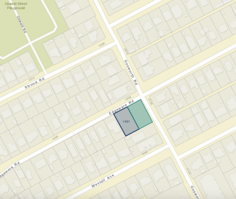 4 small-lot single family subdivision proposed in Oaklands neighbourhood