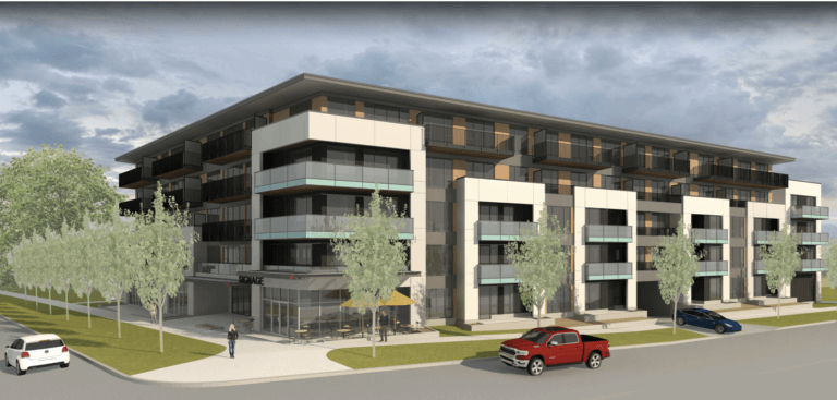 PC Urban proposes a new 157 unit rental building on Gorge Road.