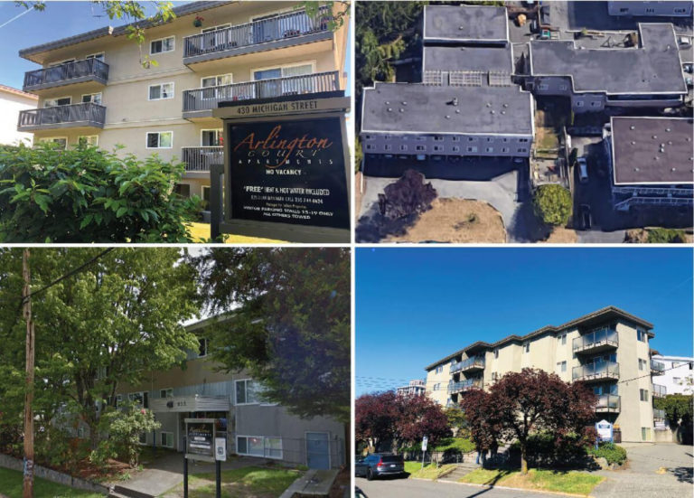 110 rental units acquired via portfolio sale by Headwater Projects of Vancouver