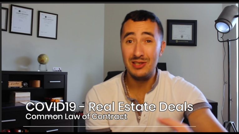 Common law of contract review for B.C. real estate.