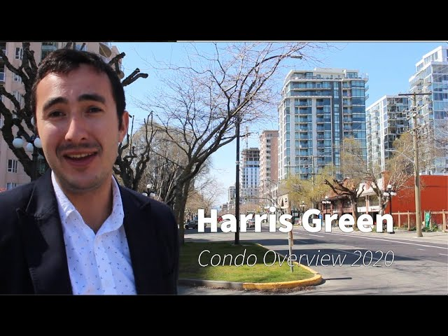 Condominium Tour – Harris Green, downtown Victoria